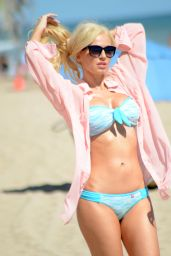 Ana Braga Hot in Bikini - on the Beach in Miami - November 2014
