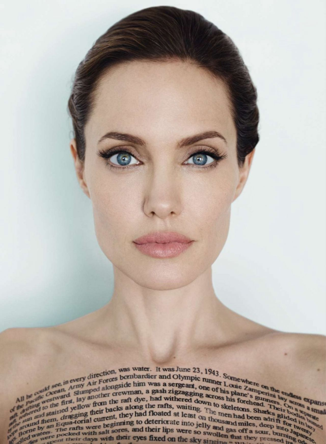 Angelina Jolie Vanity Fair Magazine December 2014 Issue