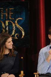 Anna Kendrick – Into the Woods Q&A in New York City – November 2014
