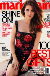 Anna Kendrick - Marie Claire Magazine December 2014 Issue