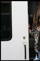 Anna Kendrick - On the Set of