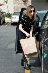 Anna Kendrick Street Style - Out in Los Angeles, November 2014