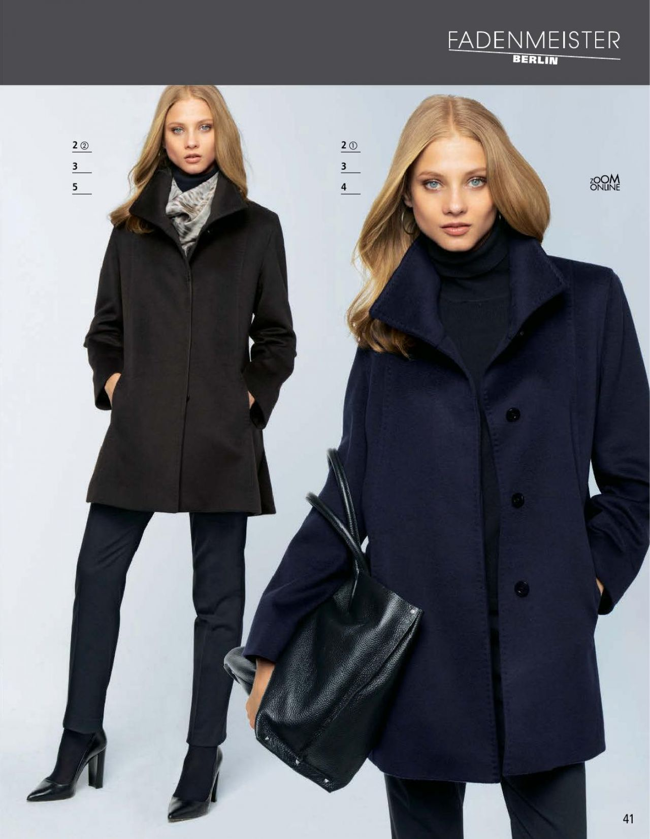 Anna Selezneva - Peter Hahn Fall/Winter 2014 Catalog