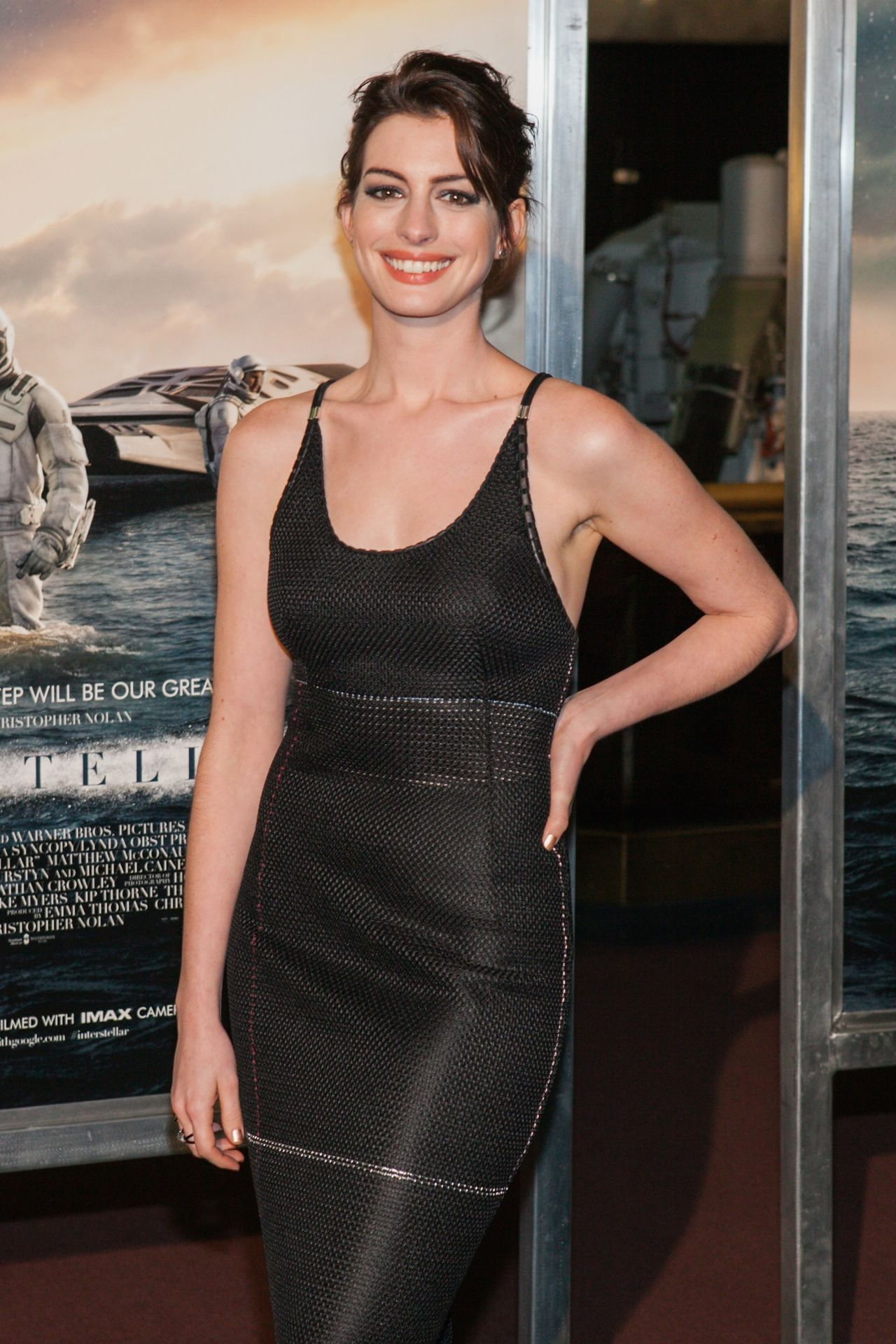 Anne Hathaway – 'Interstellar' Premiere in Washington DC