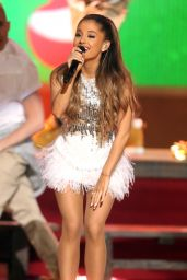 Ariana Grande - A Very Grammy Christmas in Los Angeles, November 2014