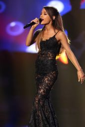 Ariana Grande Performs at 2014 American Music Awards in Los Angeles