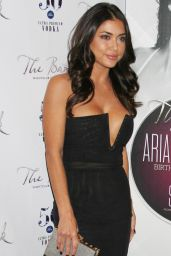 Arianny Celeste - Celebrating Her Birthday at The Bank in Las Vegas - November 2014
