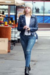 Ashley Benson in Tight Jeans - Shopping in Los Angeles, November 2014