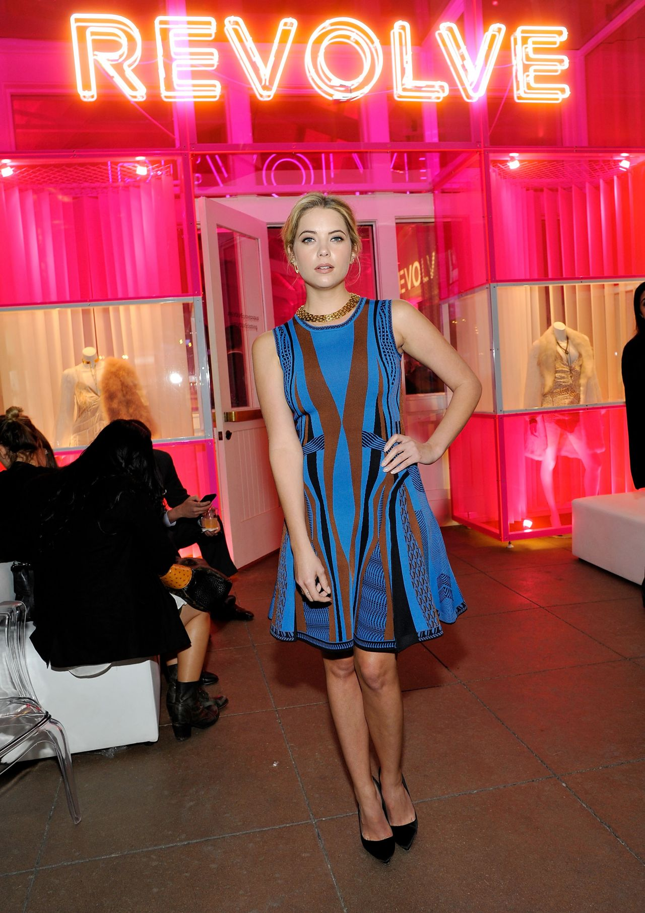 Ashley Benson – REVOLVE Pop-Up Launch Party in Los Angeles