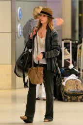 Ashley Greene Arrives at LAX Airport - November 2014