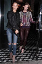 Ashley Greene Night Out Style - at Craig