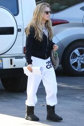 Ashley Tisdale Street Style - Out in Los Angeles, November 2014