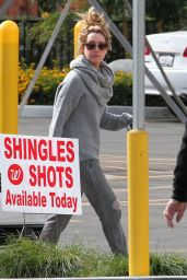 Ashley Tisdale Street Style - Shopping in Los Angeles, November 2014