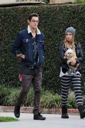 Ashley Tisdale Street Style - Walking in Los Angeles - November 2014