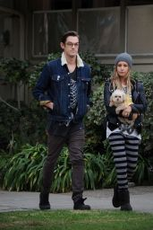 Ashley Tisdale Street Style - Walking in Los Angeles - November 2014