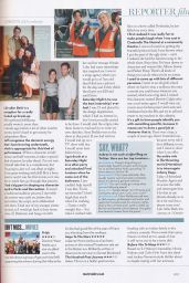 Aubrey Plaza - Marie Claire Magazine (UK) October 2014 Issue