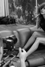 Belen Rodriguez Photoshoot for Imperfect Fall/Winter 2014 (Part II)