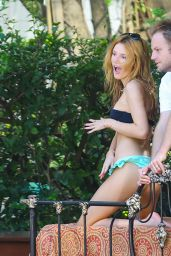 Bella Thorne Bikini Candids - Miami Beach, November 2014