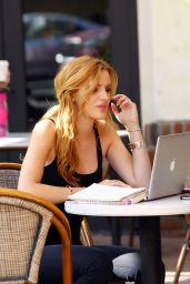 Bella Thorne - Reading Her Book