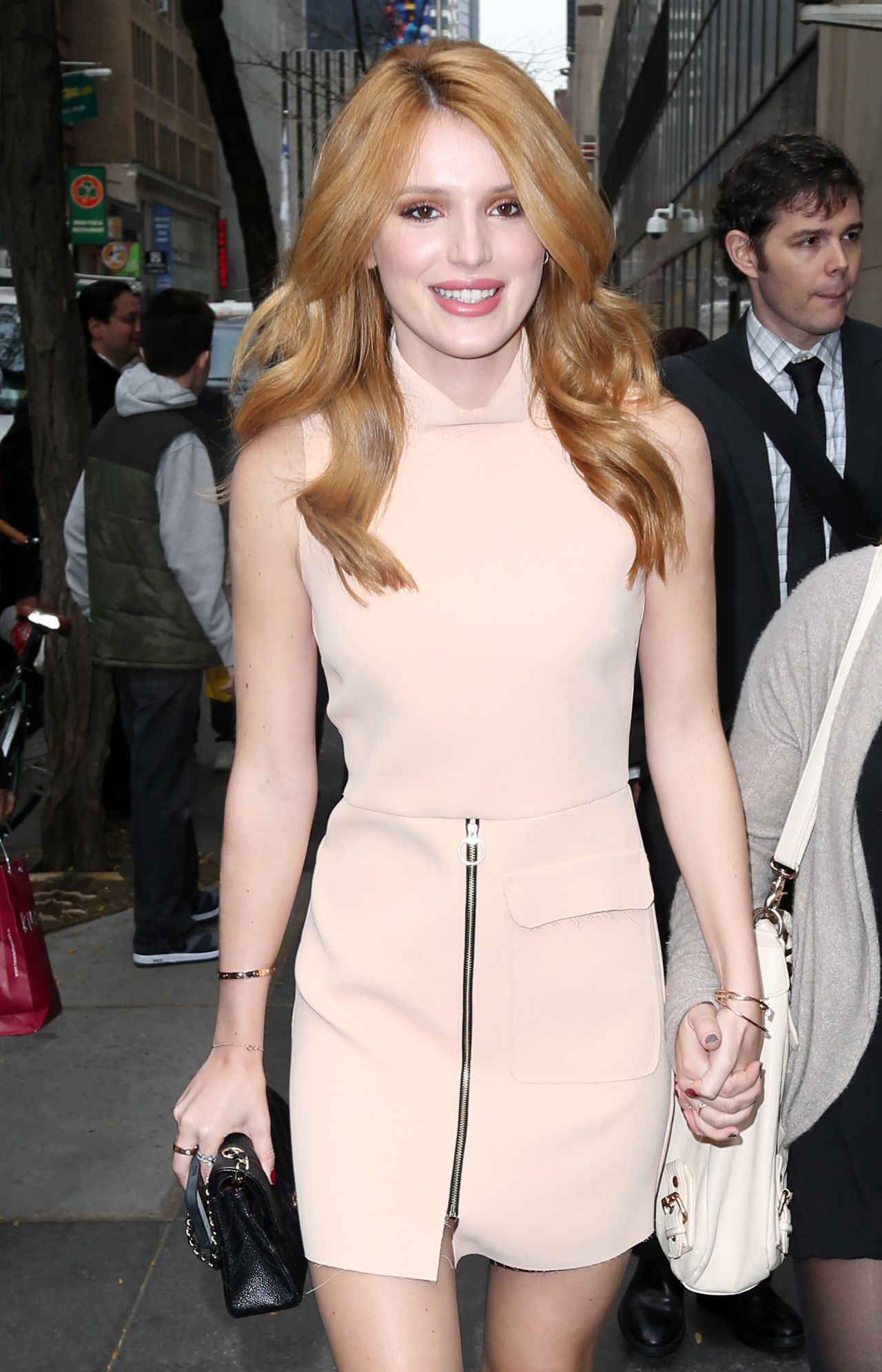 Bella Thorne Style - at NBC Studios in New York City - November 2014