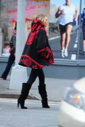 Blake Lively Street Fashion - Shopping in New York City - November 2014