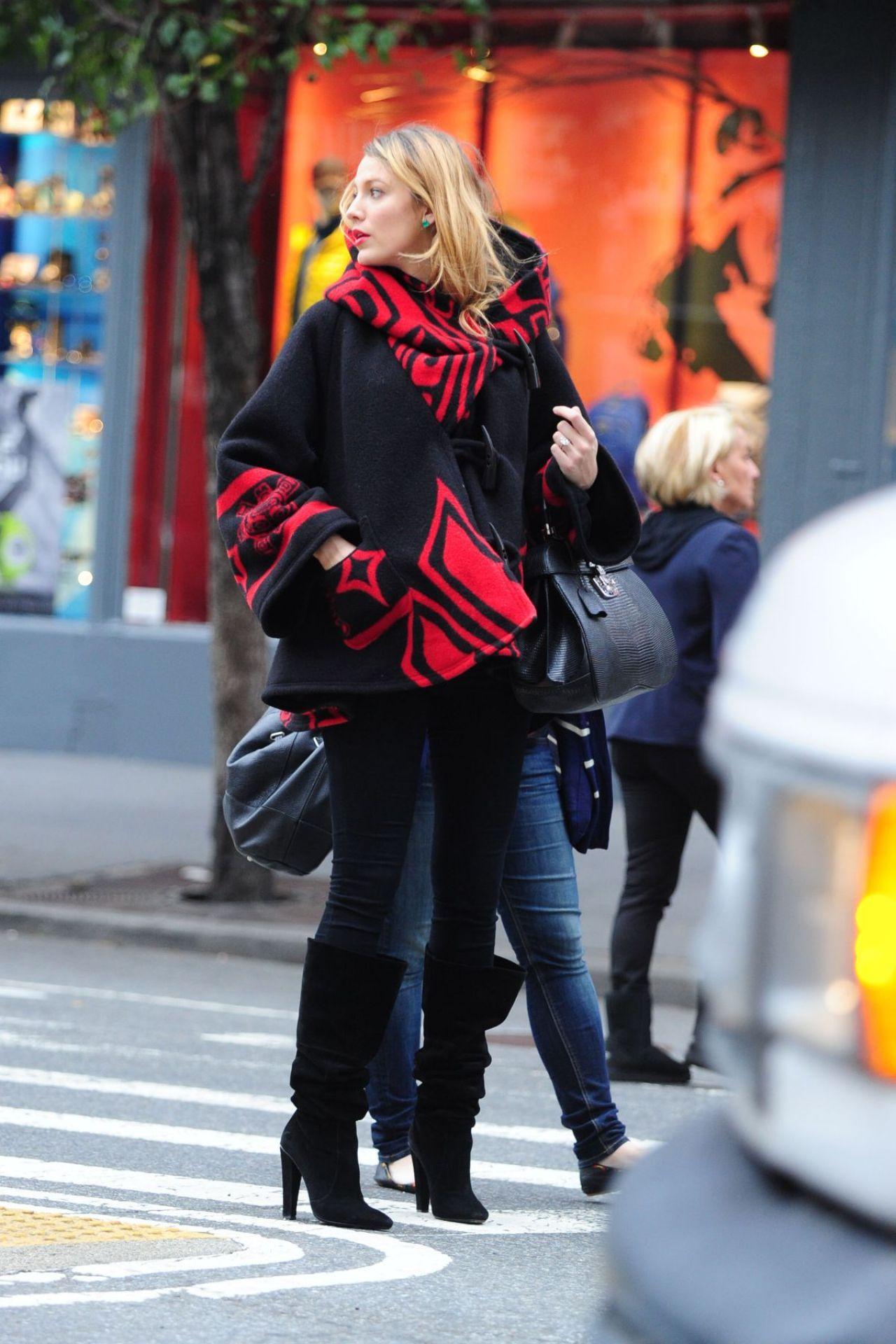 Blake Lively Street Fashion