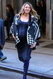 Blake Lively Style - Out in New York City - November 2014