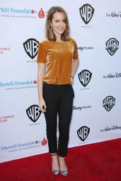 Bridgit Mendler – T.J. Martell Foundation Family Day in Studio City – November 2014