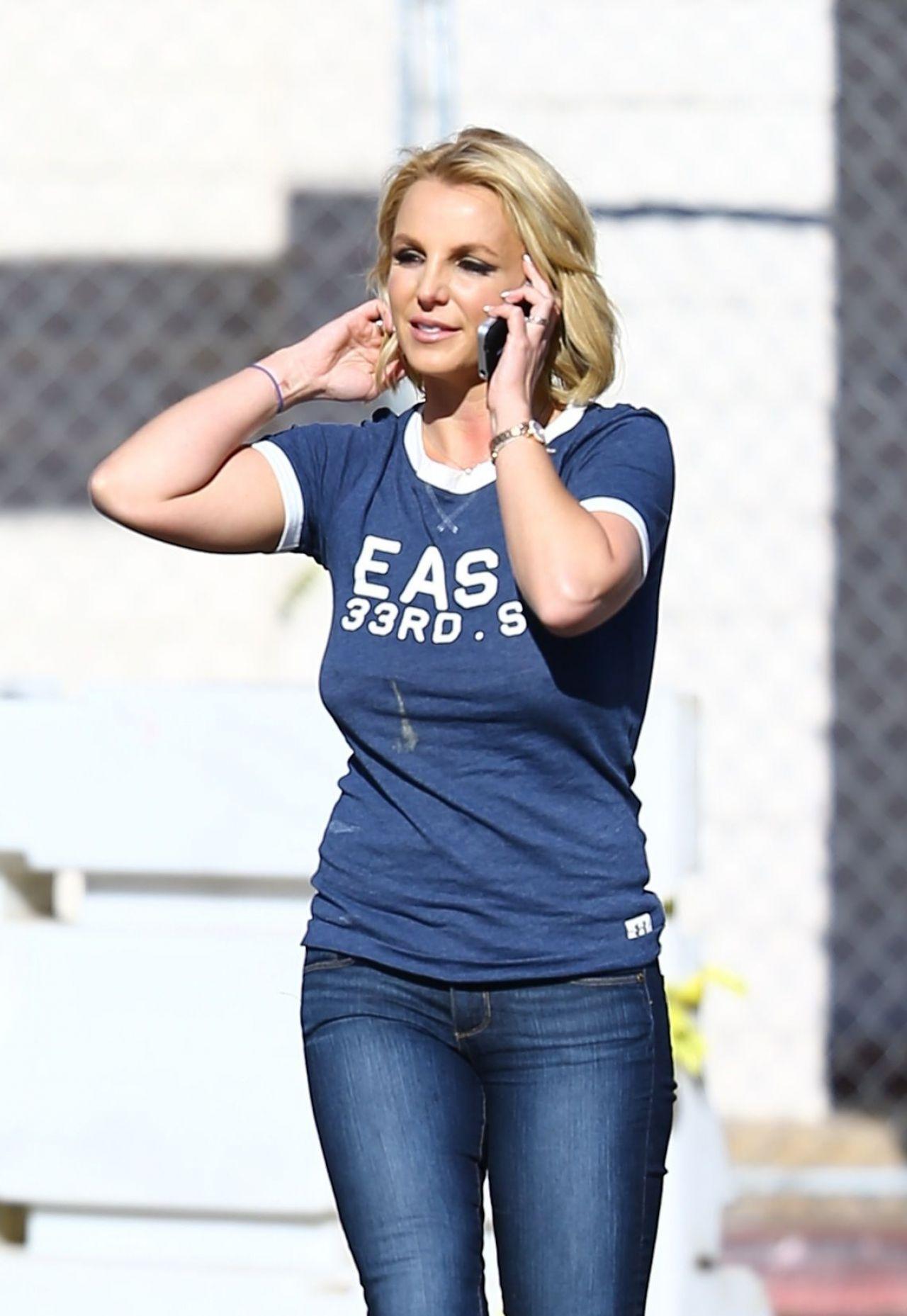 Britney Spears in Jean...