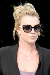 Britney Spears - Leaving the Gym in Westlake Village - November 2014