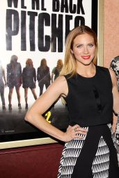 Brittany Snow – Pitch Perfect Sing-Along Screening at an AMC Theatre in New York City