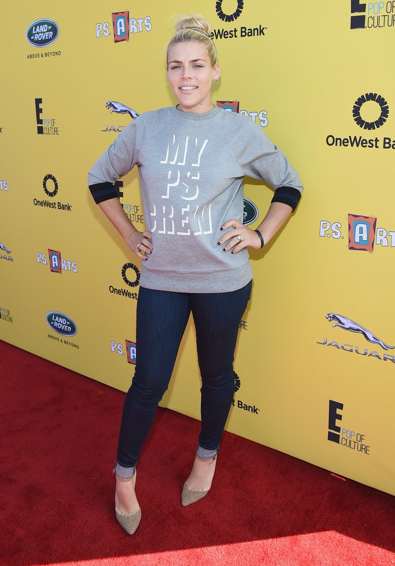 Busy Philipps – P.S. ARTS Express Yourself 2014 in Santa Monica