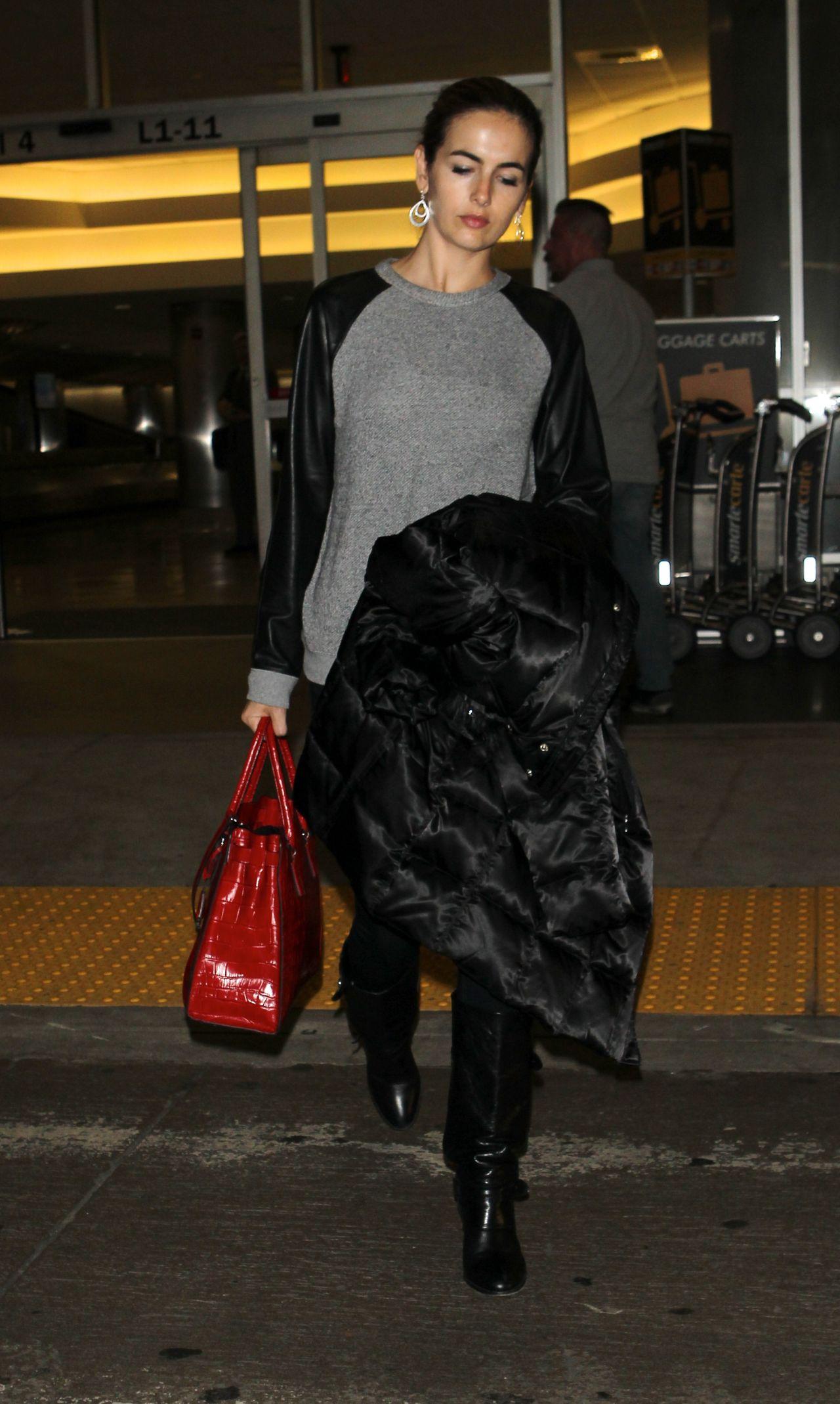 Camilla Belle at LAX Airport - November 2014