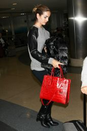 Camilla Belle at LAX Airport - November 2014