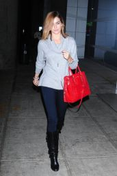 Camilla Belle Casual Style - at JFK Airport in NYC - November 2014