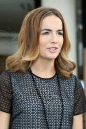 Camilla Belle on the Set of