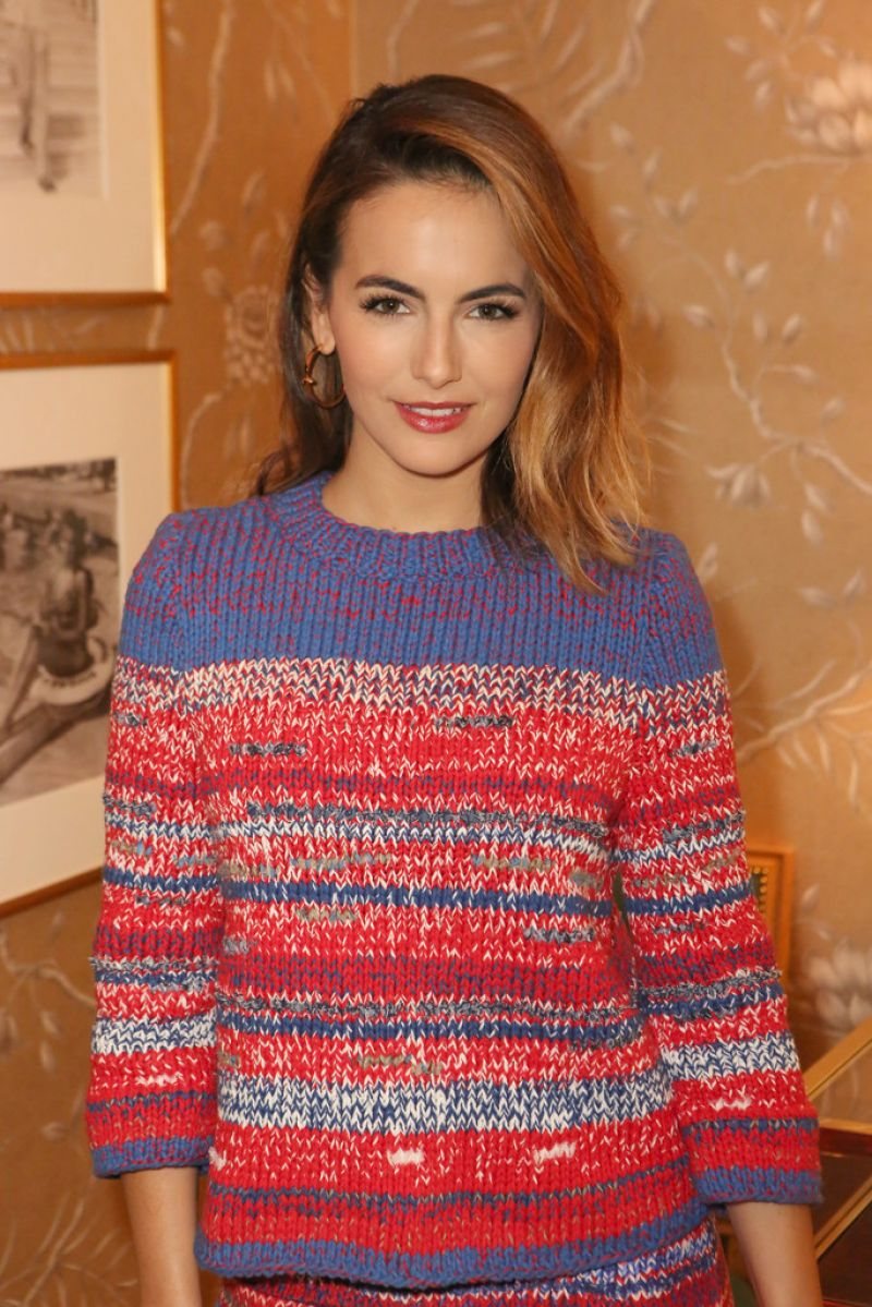 Camilla Belle – Vogue & Tory Burch Celebrate The Tory Burch Watch Collection – November 2014
