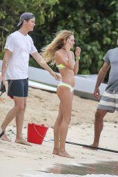Candice Swanepoel Bikini Candids - Victoria