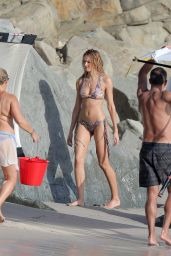 Candice Swanepoel in a Bikini - on the Set of a Victoria