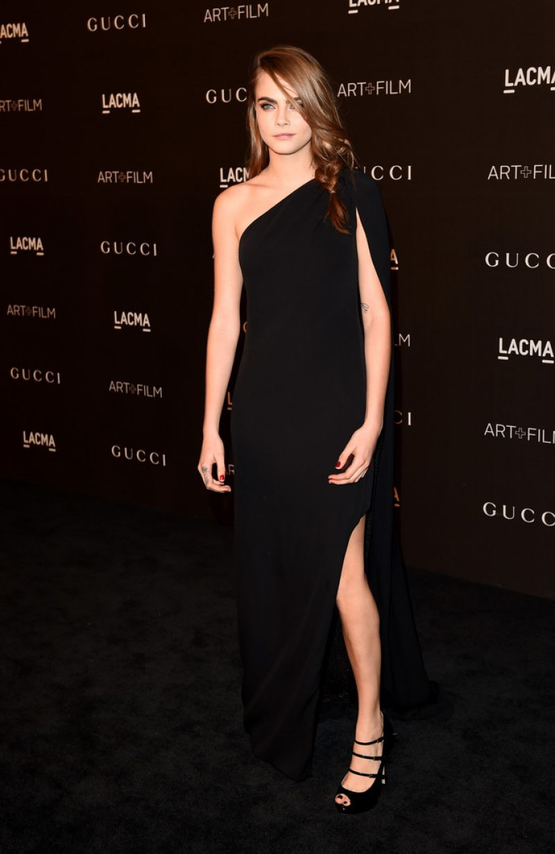 Cara Delevingne – 2014 LACMA Art + Film Gala in Los Angeles