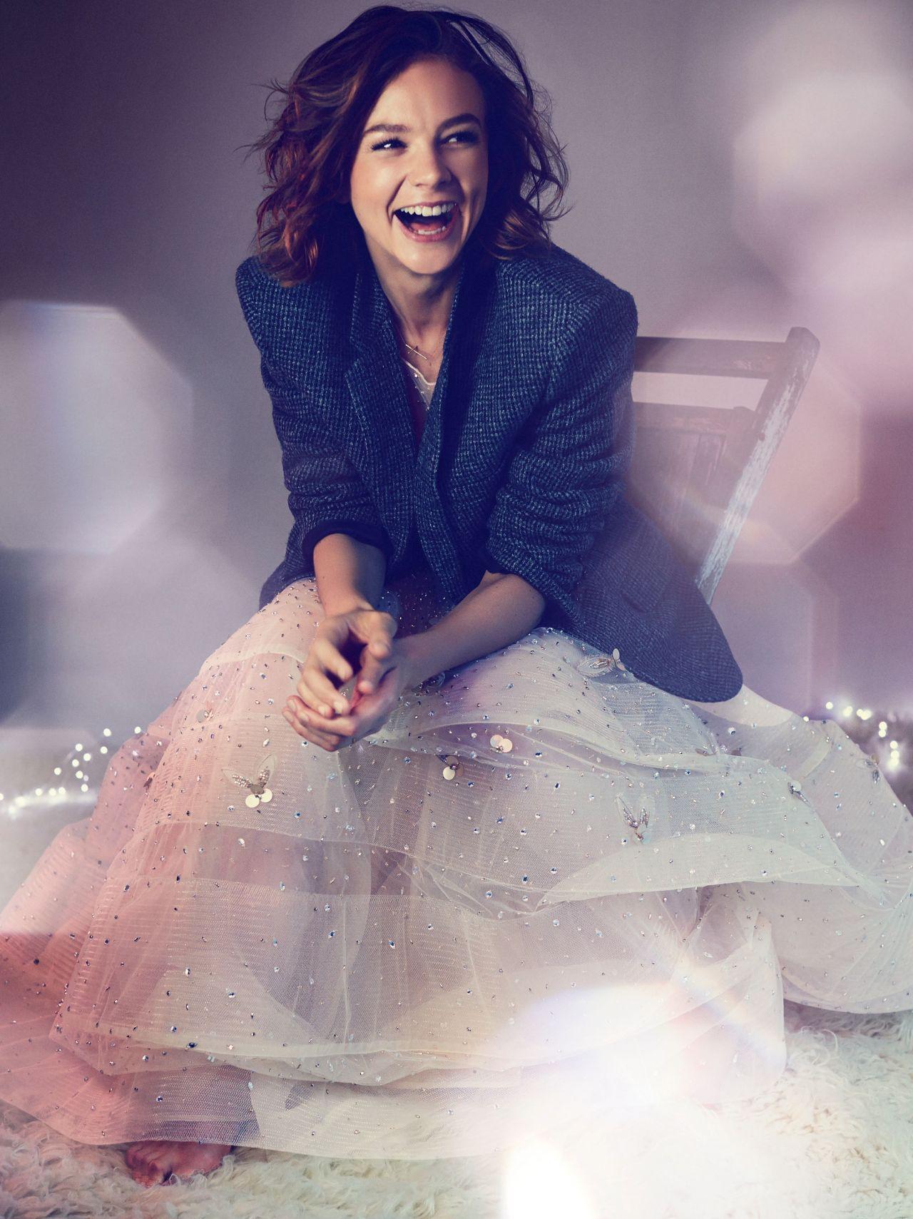 Carey Mulligan - Harper's Bazaar Magazine (UK) December 2014 Carey Mulligan
