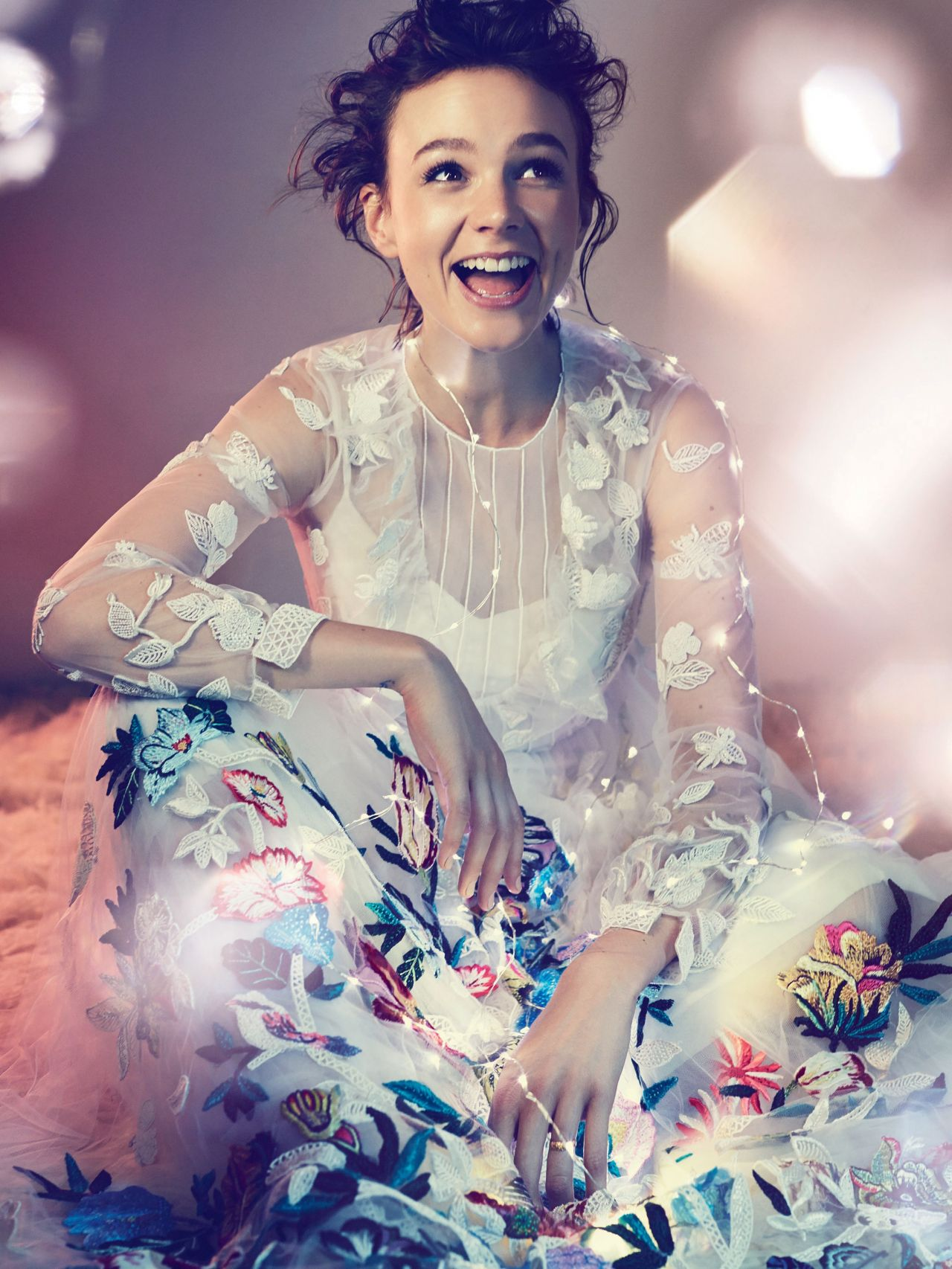 carey mulligan harpers bazaar magazine uk december 2014