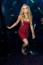 Carmen Electra Night Out Style - at Light Nightclub in Las Vegas - November 2014