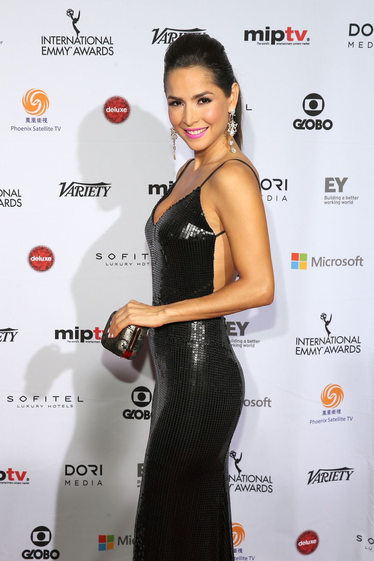 Carmen Villalobos - 2014 International Academy Of Television Arts & Sciences Awards in NYC