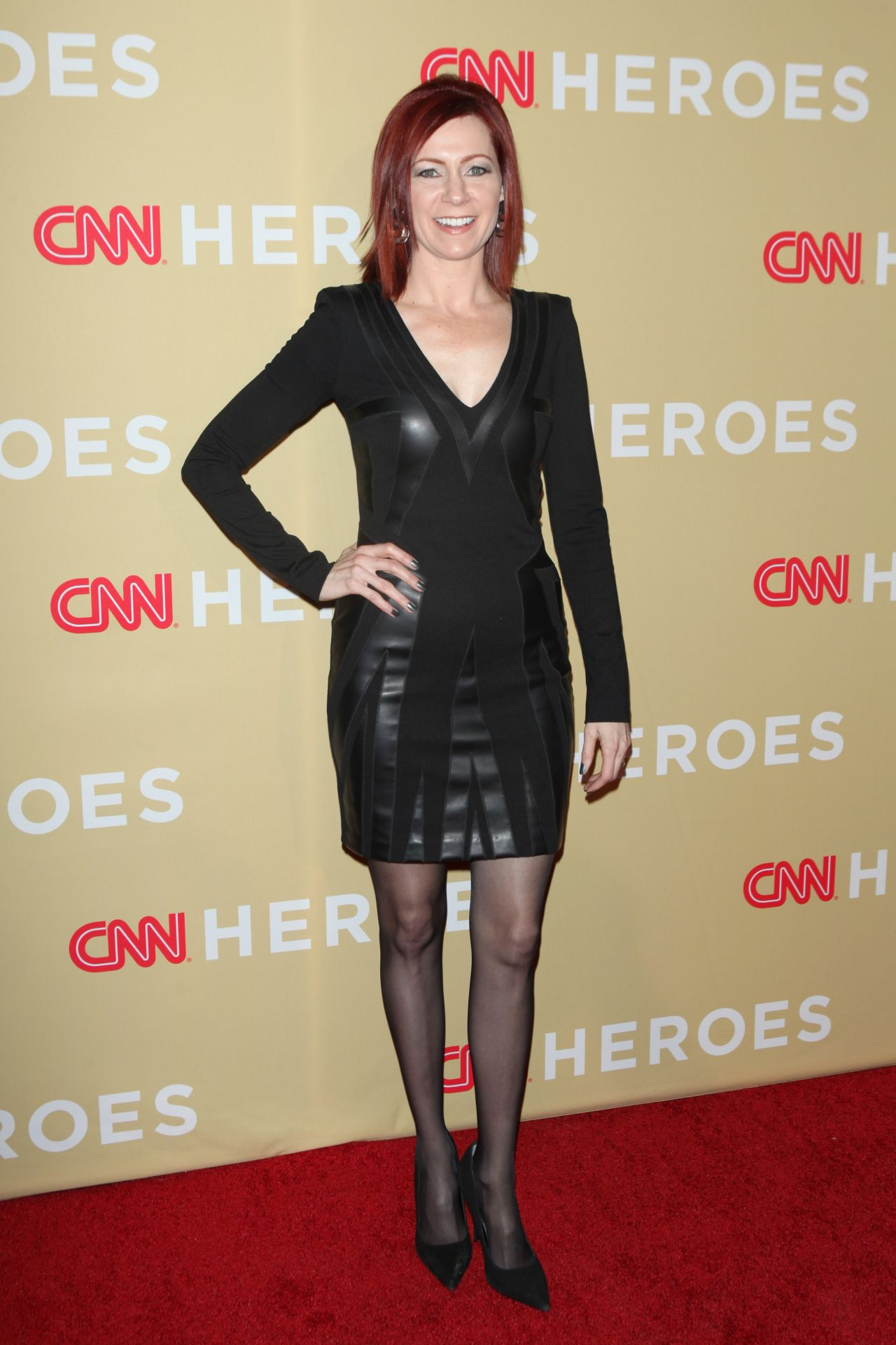 Carrie Preston 2014 Cnn Heroes An All Star Tribute In New York City