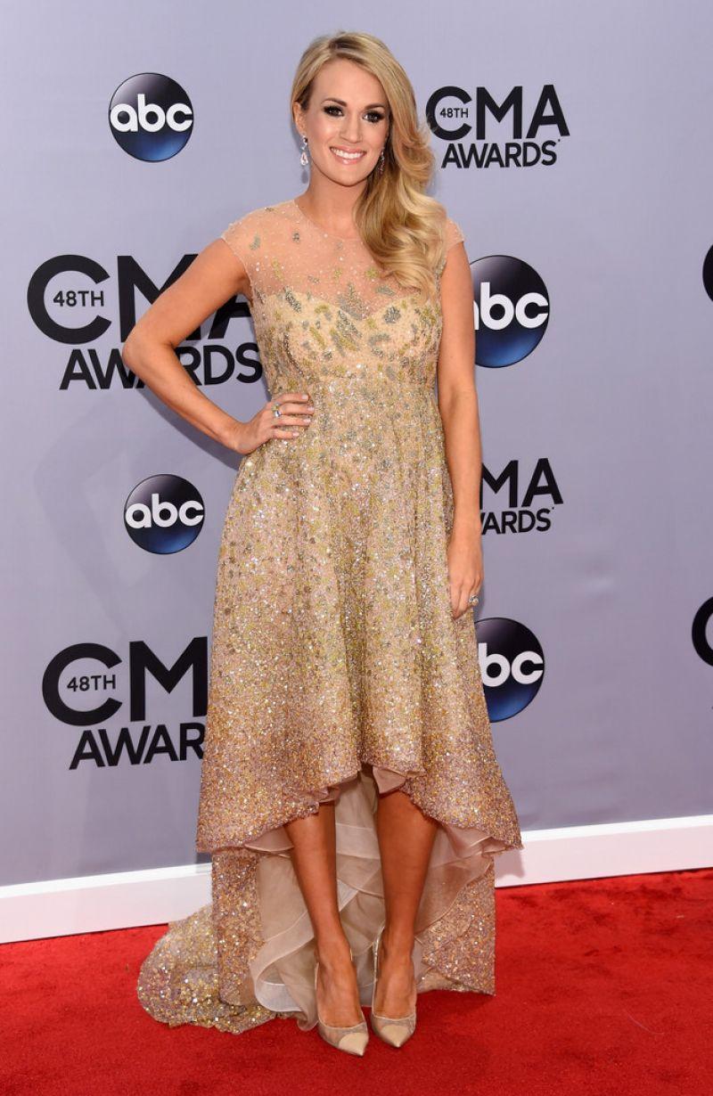 Carrie Underwood - 2014 CMA Awards in Nashville