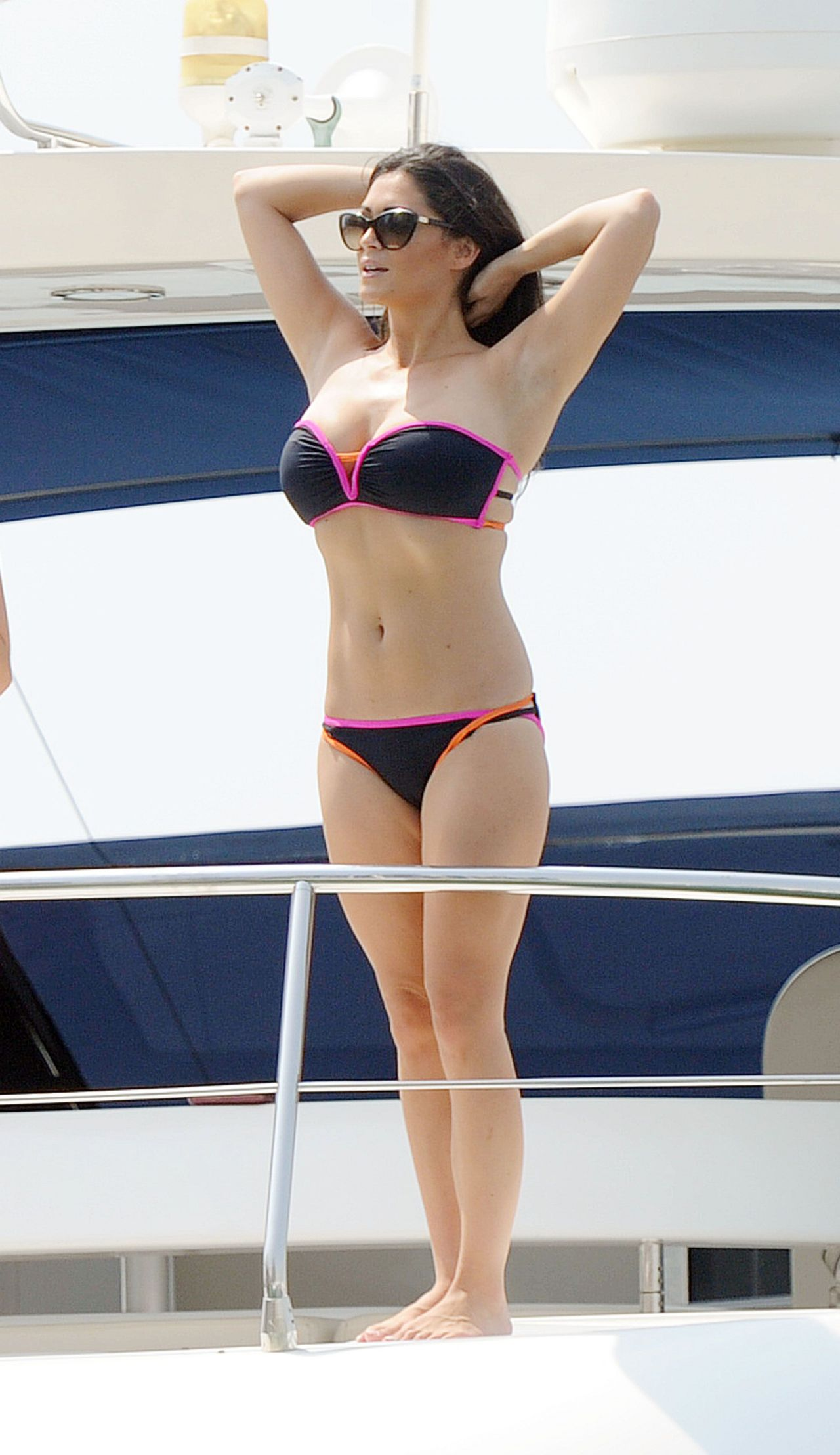 Casey Batchelor Bikini Candids - UAE, September 2014