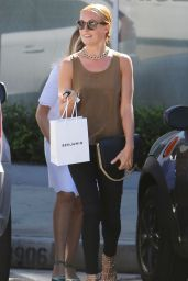 Cat Deeley Street Style - Out in West Hollywood - October 2014