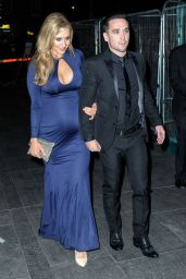 Catherine Tyldesley - Pregnant at 2014 RTS North West Awards in Manchester