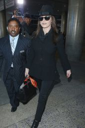 Catherine Zeta-Jones - at LAX Airport, November 2014